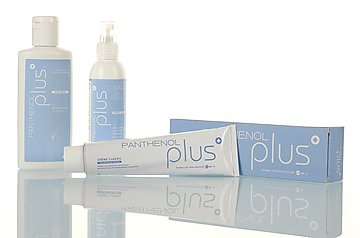 Panthenol Plus Crème Classic (with other products of the line)